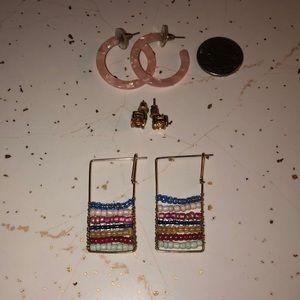 3 for 1 💰 earring bundle